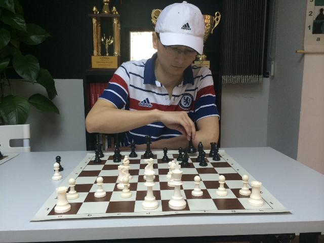 国际象棋资深总教练毛伟暑期招生_南昌书法美